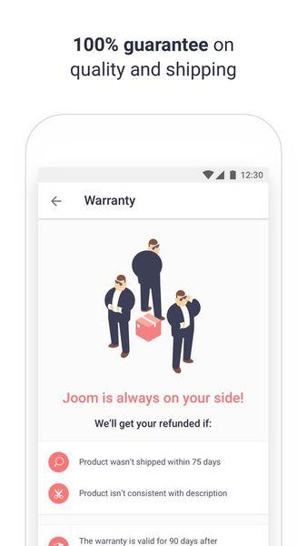 Скачать Joom – покупай хоть каждый день на Андроид screen 3