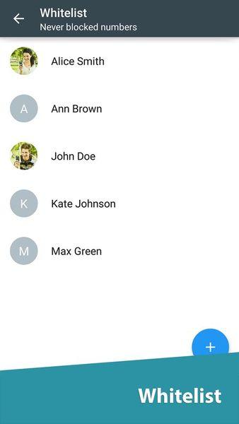 Скачать Черный список на Андроид screen 3