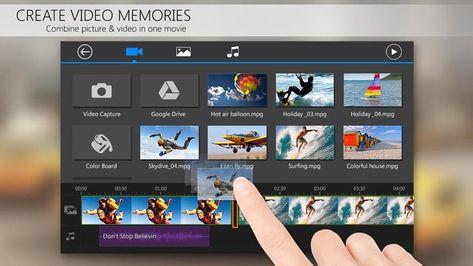 Скачать Видеоредактор PowerDirector на Андроид — Полная версия screen 2