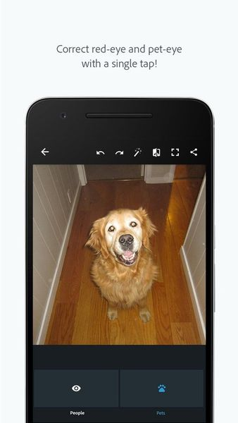 Скачать Adobe Photoshop Express на Андроид screen 3