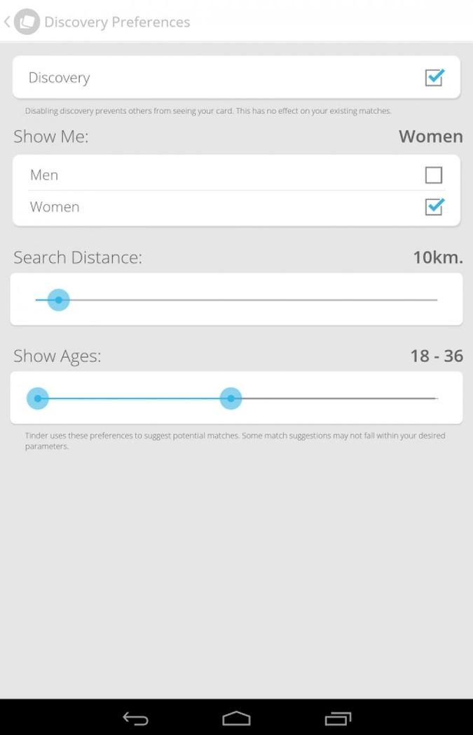 Скачать Tinder на Андроид — Полная версия screen 1