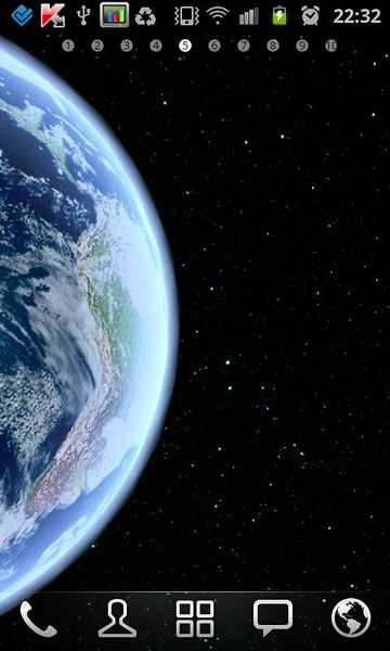 Скачать Земля HD на Андроид screen 2