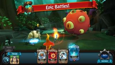 Скачать BattleHand на Андроид — Мод больше опыта screen 1