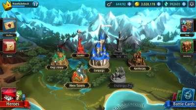 Скачать BattleHand на Андроид — Мод больше опыта screen 2