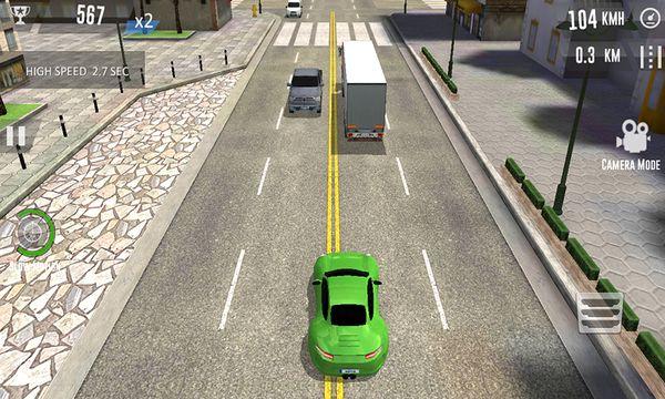 Скачать Автомобильные гонки на Андроид screen 1