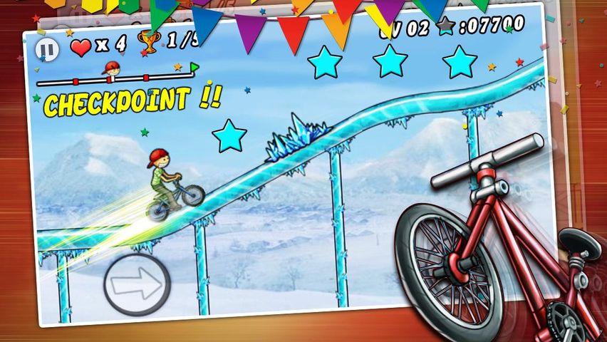Скачать BMX Boy на Андроид screen 2
