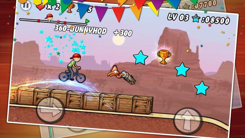Скачать BMX Boy на Андроид screen 4