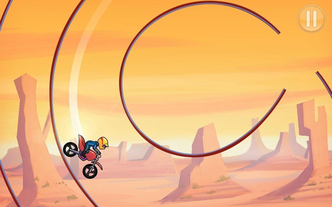 Скачать Bike Race на Андроид — Мод открытые уровни screen 3