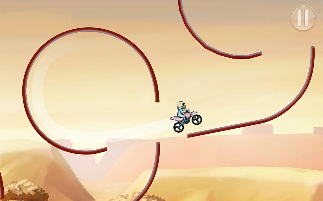 Скачать Bike Race на Андроид — Мод открытые уровни screen 2