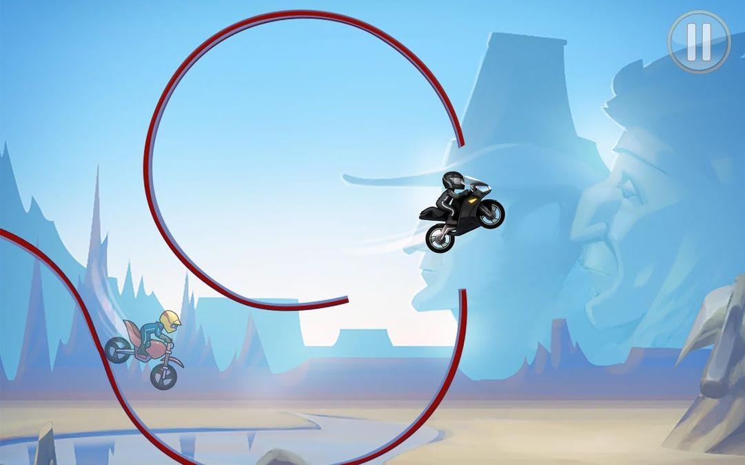 Скачать Bike Race на Андроид — Мод открытые уровни screen 4