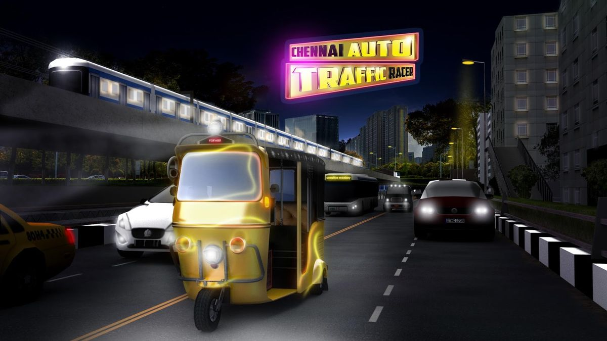 Скачать Chennai Auto Traffic Racer на Андроид screen 3