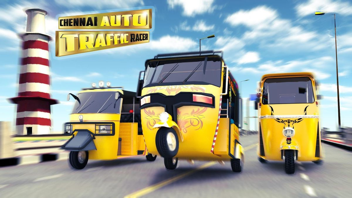 Скачать Chennai Auto Traffic Racer на Андроид screen 2