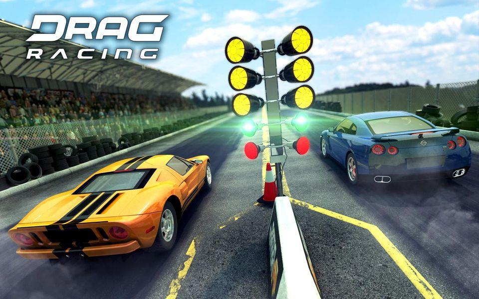 Скачать Drag Racing Classic на Андроид — Мод много денег screen 3