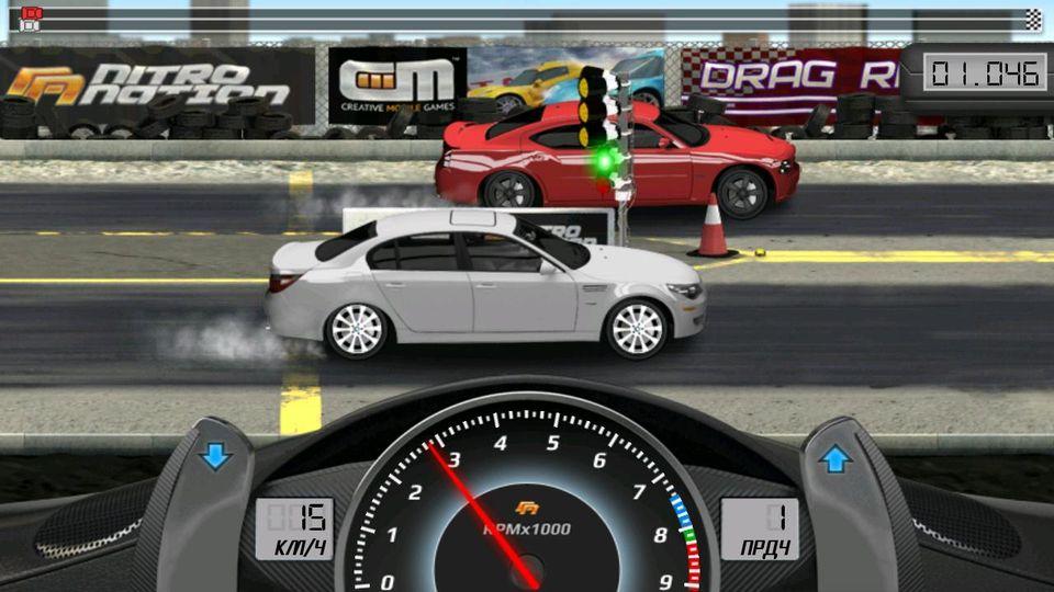 Скачать Drag Racing Classic на Андроид — Мод много денег screen 2