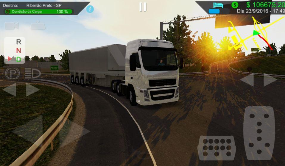 Скачать Heavy Truck Simulator на Андроид — Мод много денег и опыта screen 3
