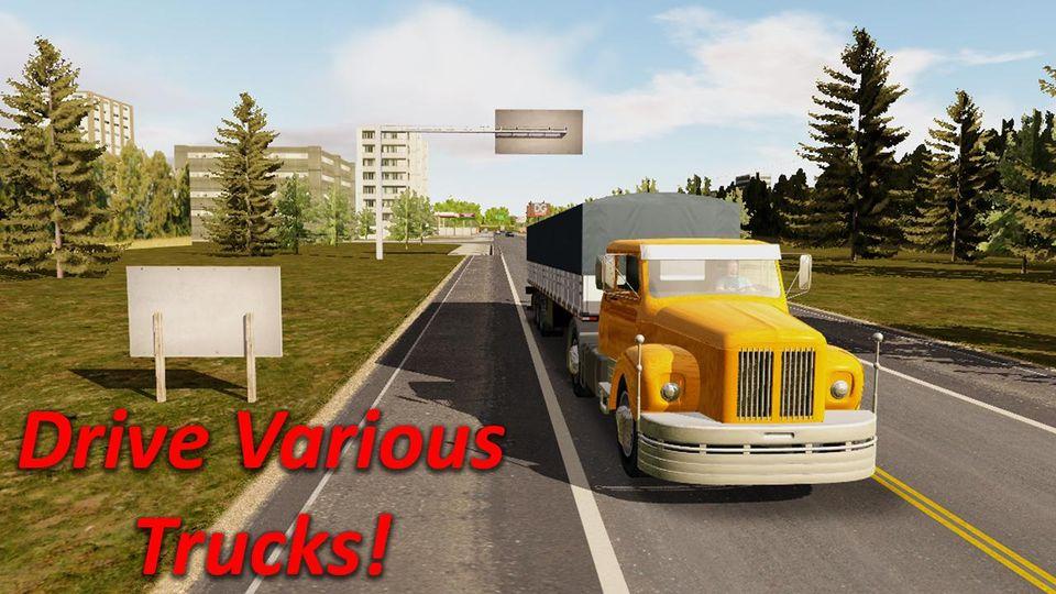 Скачать Heavy Truck Simulator на Андроид — Мод много денег и опыта screen 4