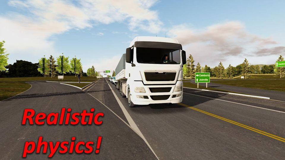 Скачать Heavy Truck Simulator на Андроид — Мод много денег и опыта screen 2