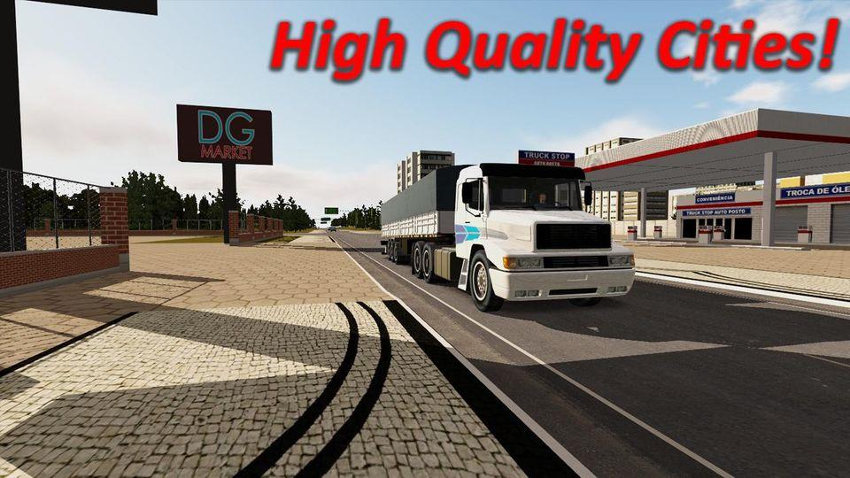 Скачать Heavy Truck Simulator на Андроид — Мод много денег и опыта screen 1