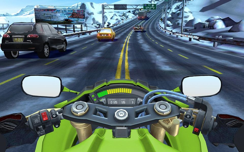 Скачать Moto Rider GO: Highway Traffic на Андроид screen 2