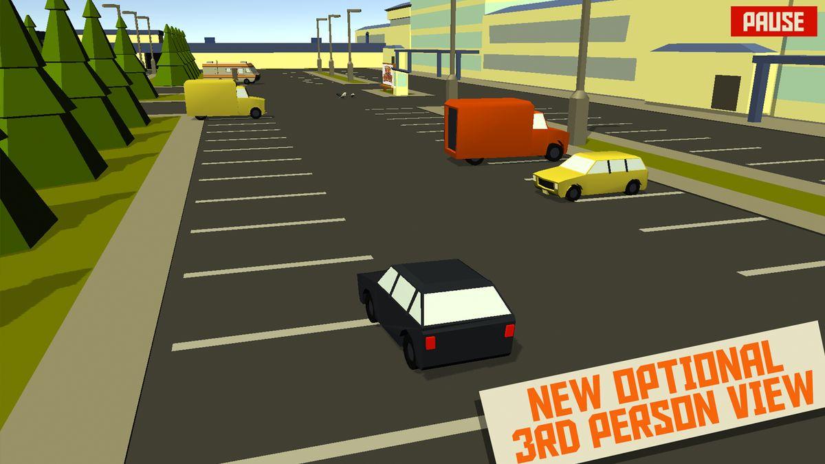 Скачать Pako Car Chase Simulator на Андроид — Мод бесконечные деньги screen 1