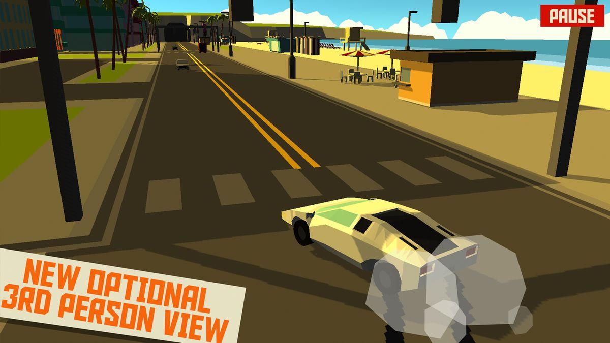 Скачать Pako Car Chase Simulator на Андроид — Мод бесконечные деньги screen 4