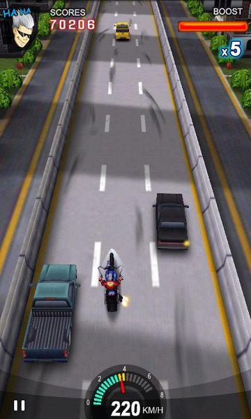 Скачать Racing Moto на Андроид screen 3