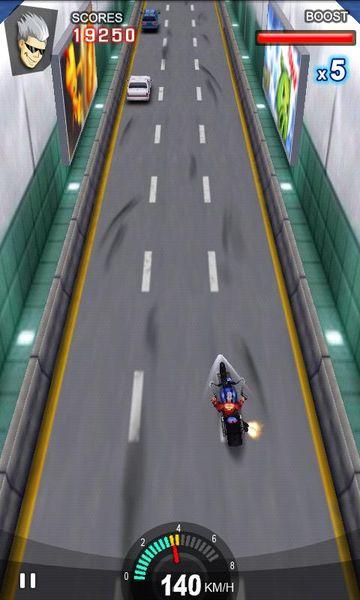 Скачать Racing Moto на Андроид screen 1