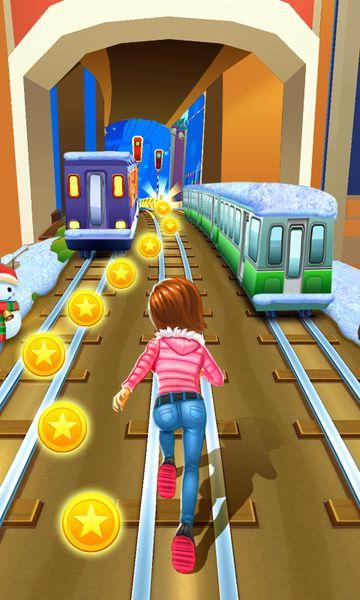 Скачать Subway Princess Runner на Андроид — Мод много монет и камней screen 3