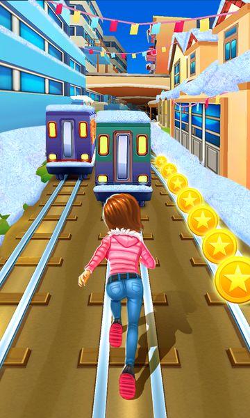 Скачать Subway Princess Runner на Андроид — Мод много монет и камней screen 2