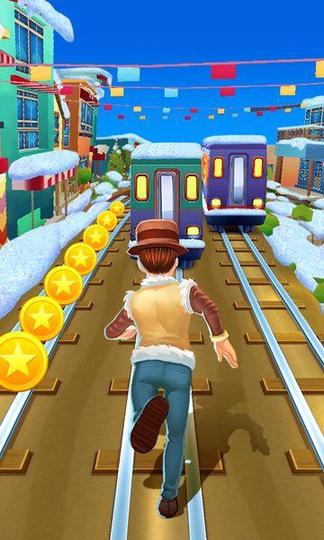 Скачать Subway Princess Runner на Андроид — Мод много монет и камней screen 1