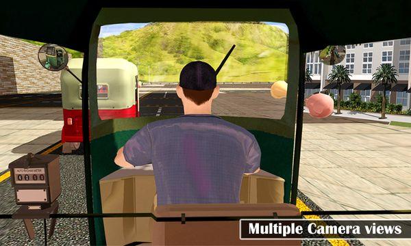 Скачать Тук Тук Auto City Drive на Андроид screen 2