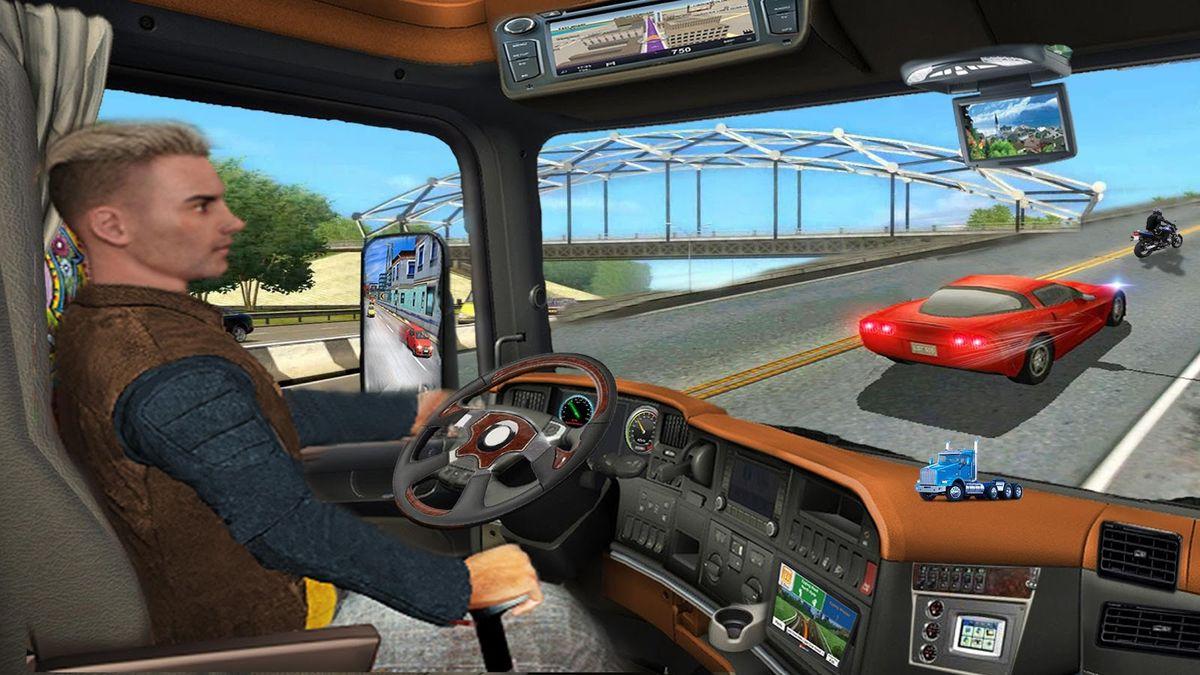 Скачать В грузовой машине на Андроид screen 4