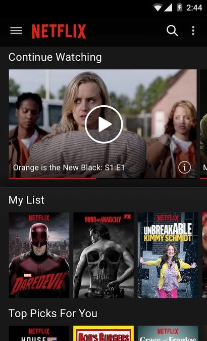 Скачать Netflix на Андроид screen 2