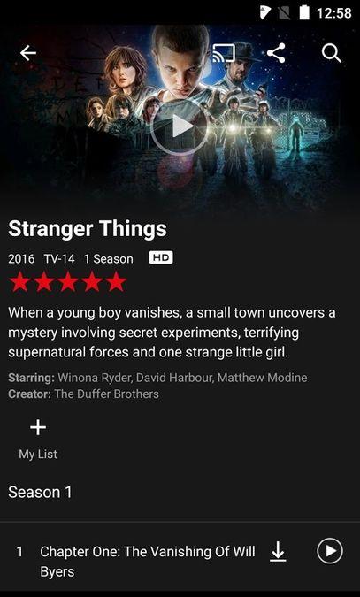 Скачать Netflix на Андроид screen 3