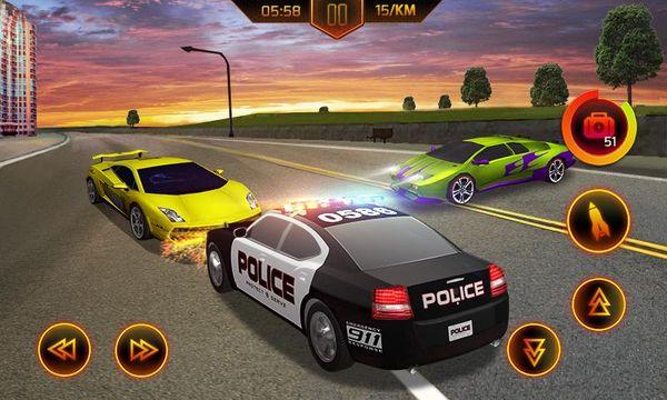 Скачать Полицейская погоня на Андроид screen 3