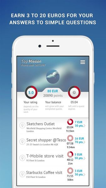Скачать TopMission на Андроид screen 1