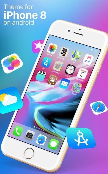Скачать Theme for iPhone 8 HD на Андроид screen 1