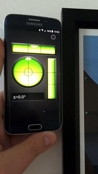 Скачать Пузырьковый Уровень на Андроид screen 1