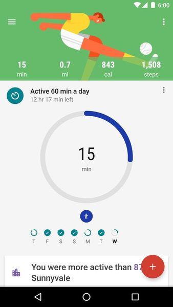 Скачать Google Fit – фитнес-трекер на Андроид screen 1