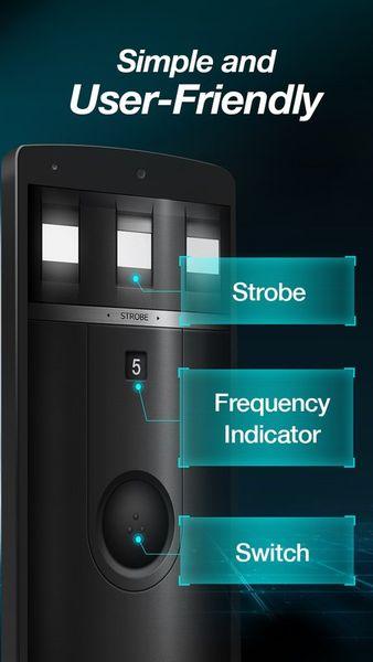 Скачать Сверхъяркий фонарик-Flashlight на Андроид screen 2