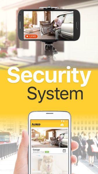 Скачать Alfred Видеонаблюдение камера на Андроид screen 2