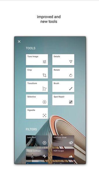 Скачать Snapseed на Андроид — Оптимизированная версия screen 2
