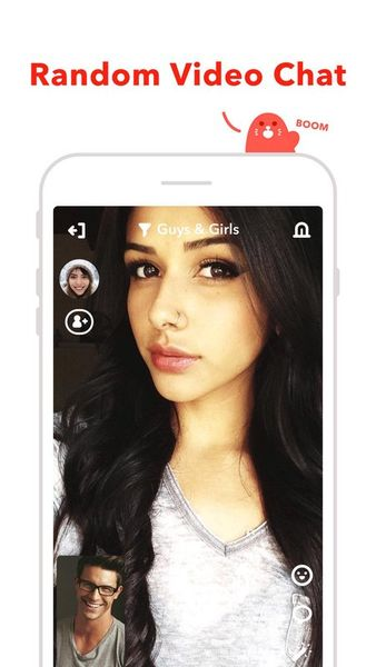 Скачать HOLLA — лучший мгновенный видео чат на Андроид screen 2