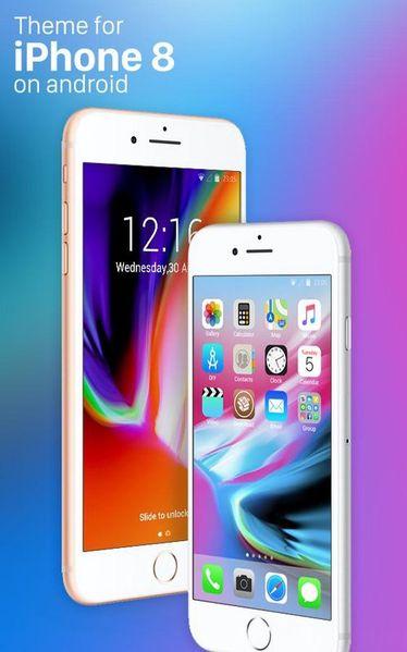 Скачать Theme for iPhone 8 HD на Андроид screen 2