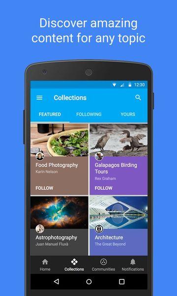 Скачать Google+ на Андроид screen 2
