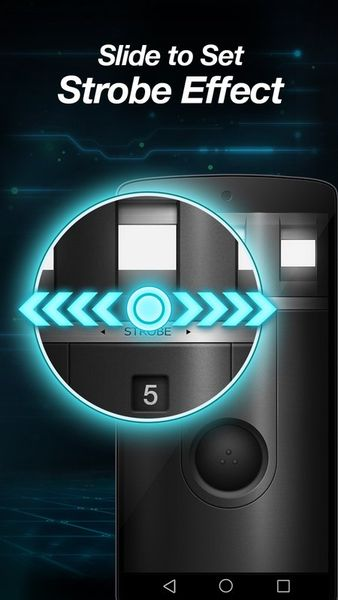 Скачать Сверхъяркий фонарик-Flashlight на Андроид screen 3