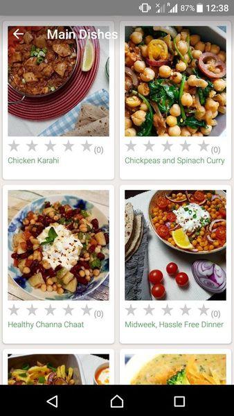 Скачать Простые рецепты на Андроид screen 1