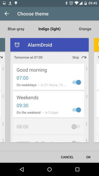 Скачать AlarmDroid (alarm clock) на Андроид screen 2