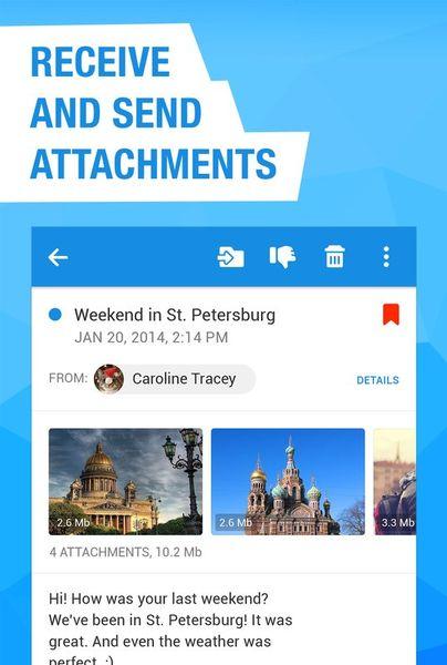 Скачать Почта Mail.Ru на Андроид screen 4