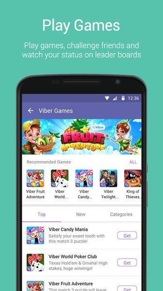 Скачать Viber на Андроид screen 4